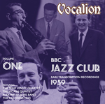 BBC  Jazz Club Rare  transcription recordings (1959) Volume 1