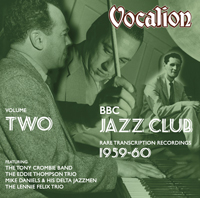 BBC  Jazz Club Rare  transcription recordings (1959-60) Volume 2