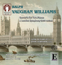 Ralph Vaughan WilliamsConcerto for Two Pianos/A London Symphony [SACD Hybrid Stereo]
