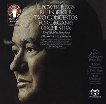 E. Power Biggs/Maurice Peress/The Columbia Symphony - Rheinberger: Two Concertos for Organ and Orchestra & A Mini Discourse by E. Power Biggs [SACD Hybrid Multi-channel]