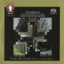 Pinchas Zukerman/The English Chamber Orchestra - Vivaldi: The Four Seasons & Vivaldi: Concertos Nos. 5, 6, 7 and 8 [SACD Hybrid Multi-channel]