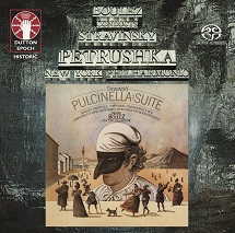 Pierre Boulez conducts Stravinsky: Petrushka & Pulcinella Suite [SACD Hybrid Multi-channel]