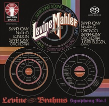 James Levine conducts Mahler & Brahms - Symphonies Nos. 1 & 4 [SACD Hybrid Multi-channel]