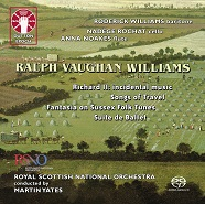Ralph Vaughan Williams: Richard II - Incidental Music/Songs of Travel/Suite de Ballet/Fantasia on Sussex Folk Tunes [SACD Hybrid Multi-channel]