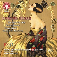 Edward Elgar: The Spanish Lady/Organ Sonata/Severn Suite/Three Civic Fanfares [SACD Hybrid Multi-channel]