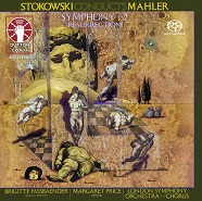 "LEOPOLD STOKOWSKI CONDUCTS MAHLER • Symphony No. 2 ""Resurrection"" [SACD Hybrid Multi-Channel]"