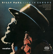 Billy Paul - Live in Europe [SACD Hybrid Multi-channel]*LIMITED EDITION*