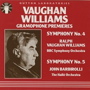 Ralph Vaughan Williams - Gramophone Premiers