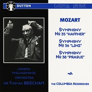 Thomas Beecham Conducts Mozart Symphonies