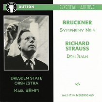 KARL BOHM Conducts Dresden State Orchestra