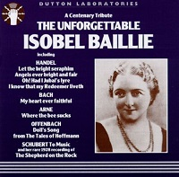 Isobel BaillieTHE UNFORGETTABLE